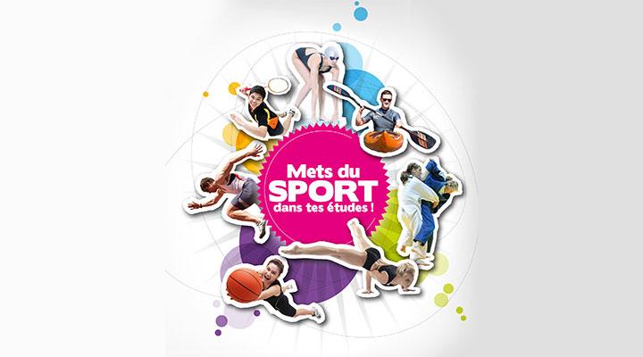 Plaquette de promotion de la pratique du sport à l'université